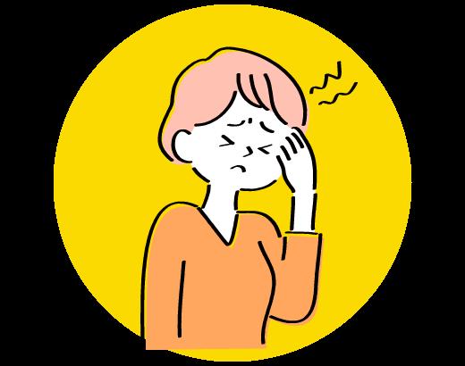 頭痛、生理痛などで薬が手放せないなら明石駅徒歩3分、アスピア明石北館1階(寿整骨院併設)の寿鍼灸院